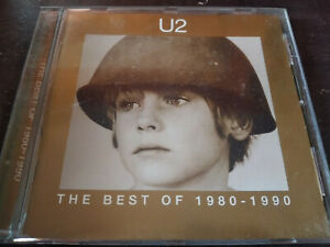 U2 - The Best Of 1980-1990 CD New Wave / Pop Rock / Alternative Rock