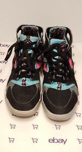 competitive price b0612 b4bef Image is loading Nike-Air-Flight-Huarache-Size-11-Black-Pink-
