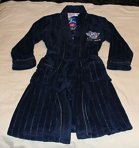 North-Melbourne-Kangaroos-AFL-Boys-Embroidered-Fleece-Dressing-Gown-Size-16-New