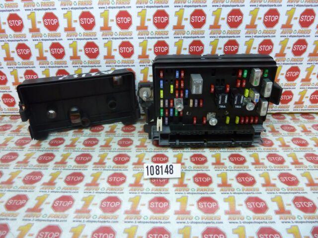 02 2002 03 2003 chevrolet trailblazer interior fuse box 15098339 oem