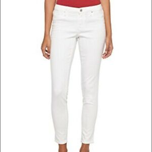 NEW-Size-8-Mossimo-Womens-Mid-Rise-Curvy-Crop-Jegging-Jeans-White