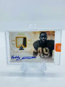 BOBBY MITCHELL 2013 National Treasures 2020 Honors ON CARD Patch Auto /25