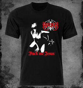3504f44f Marduk - Fuck me Jesus t-shirt XS - S - M - L - XL - XXL | eBay