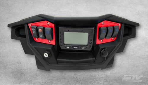 Polaris RZR Dash Switch Panel Red for XP 1000 Turbo 2017