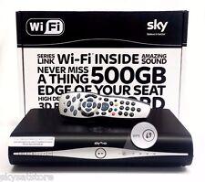 SKY PLUS + HD Box Amstrad drx890w 500gb NUOVO Slimline BOX WIFI INTEGRATO