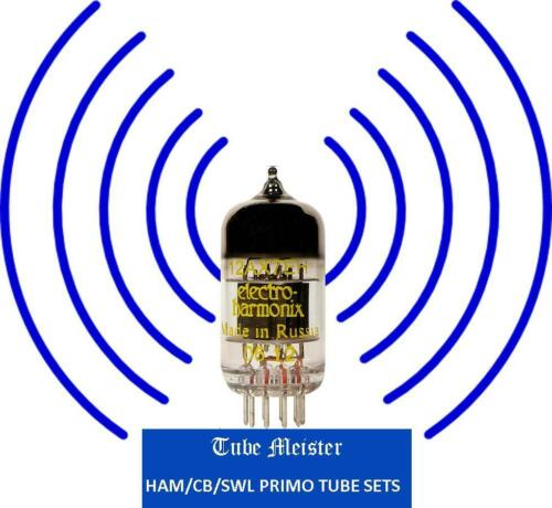 2 +Receiver and Transmiter NATIONAL NCX5 Primo Complete Tube Set 6JB6