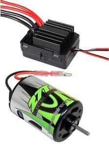 Axial SCX10 YETI Waterproof ESC w/ Drag Brake & 27T Electric Motor Combo AX24004