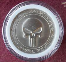 Punisher Challenge Coin Defending American Flag Collectible Novelty Memorabilia