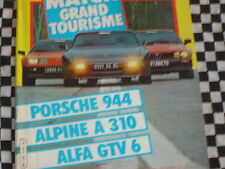 AUTO-HEBDO 1982 ALPINE A 310 V6 / PORSCHE 944 / ALFA ROMEO GTV 6 / 1000 KM MONZA