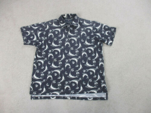 Ralph Lauren Polo Shirt Adult Extra Large Blue Mar