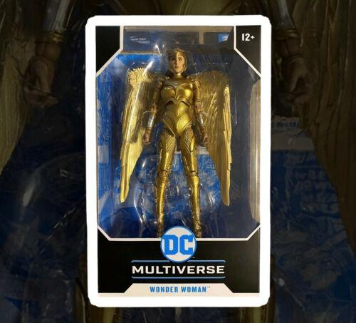 DC Multiverse Action Figure Wonder Woman 1984 Golden Armor McFarlane Toys