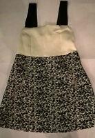 TopShop Black & White Dress RRP £45.00 !!  65% OFF RRP