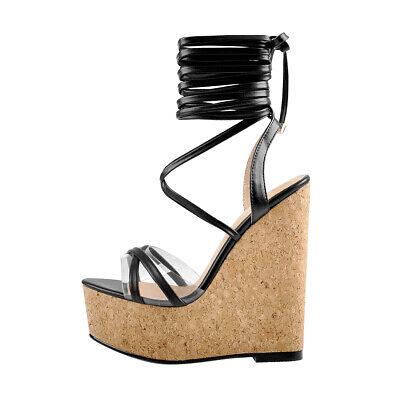 Onlymaker Women Summer Wedge Heel