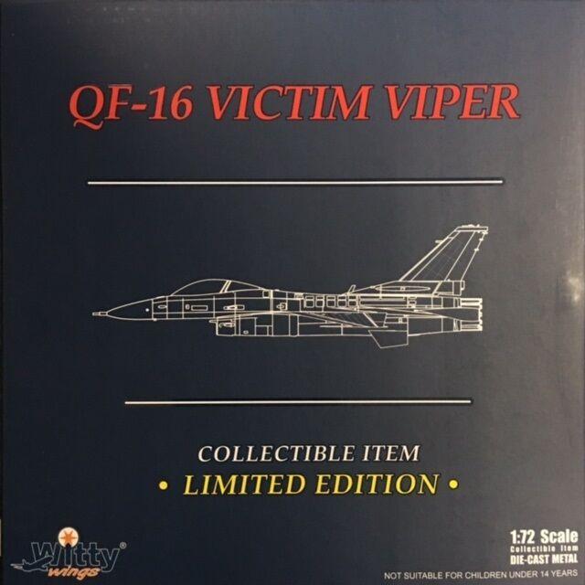 Witty Wings Escala 1 72 F-Xvi víctima Viper AF80-0541 WTW-72-010-032 Avión Diecast