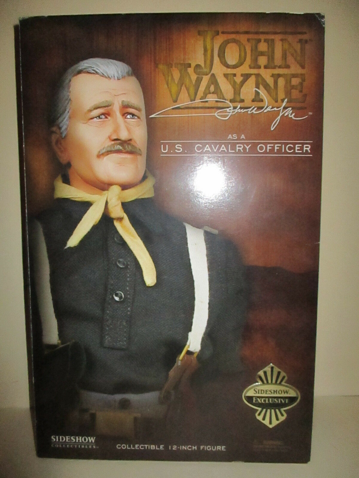 SIDESHOW EXCUSIVE JOHN WAYNE CAVALRY CAPTAIN BRITTLES SHE WORE A YELLOW RIBBON
