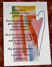 """BM87 Blue Mountain Arts Greeting Card /""""Straight From My Heart/"""""""