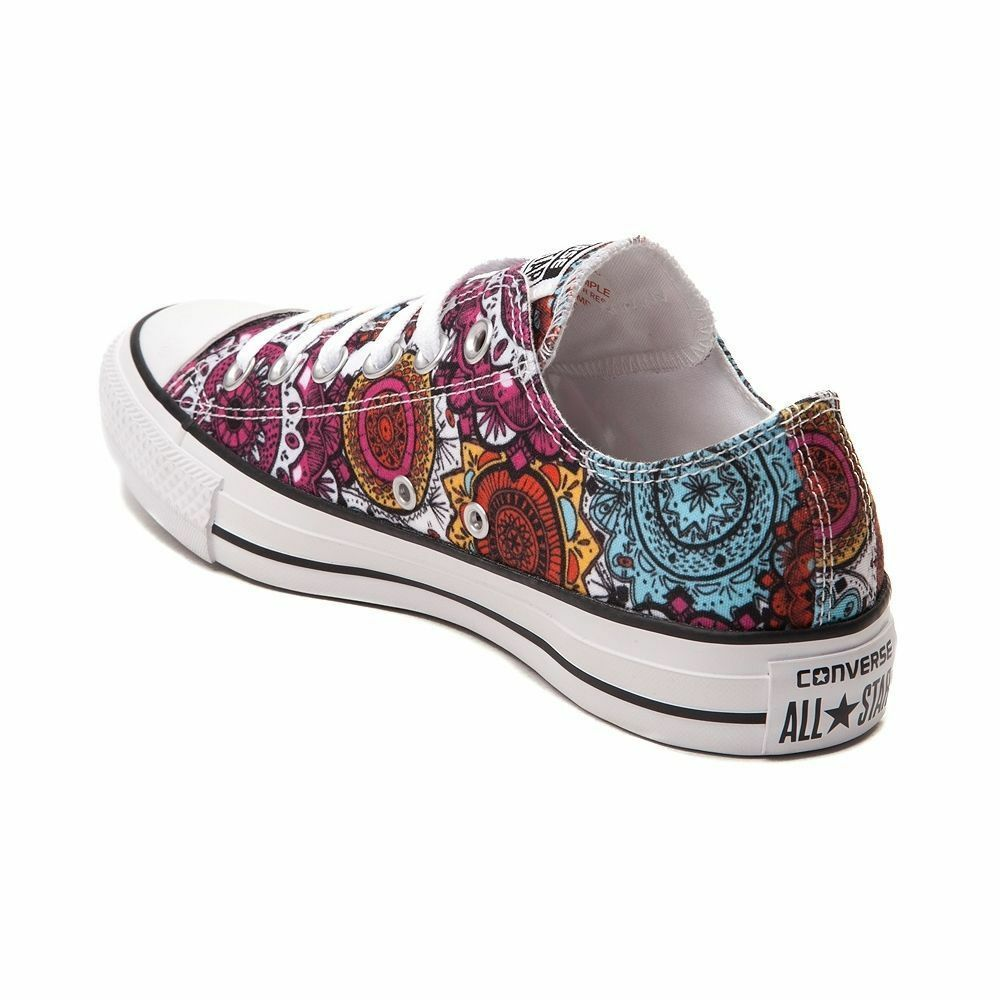 NEW Converse Chuck Taylor All All All Star Lo Mandala baskets Multi Couleur chaussures ef5e03
