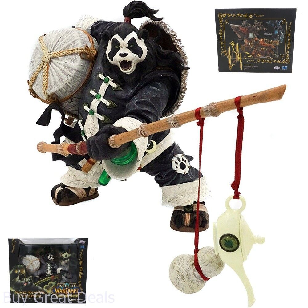 World of Warcraft Pandaren Brewmaster Action Figure Limit Edition Collector Box