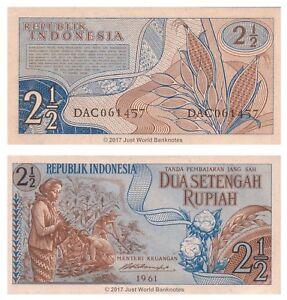 Indonesia-2-1-2-RUPIA-1961-P-79-BANCONOTE-UNC
