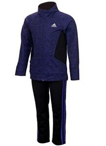 NEW STYLES AND COLORS NEW ADIDAS GIRLS 2 PIECE ACTIVE WEAR SETS VARIETY SIZES