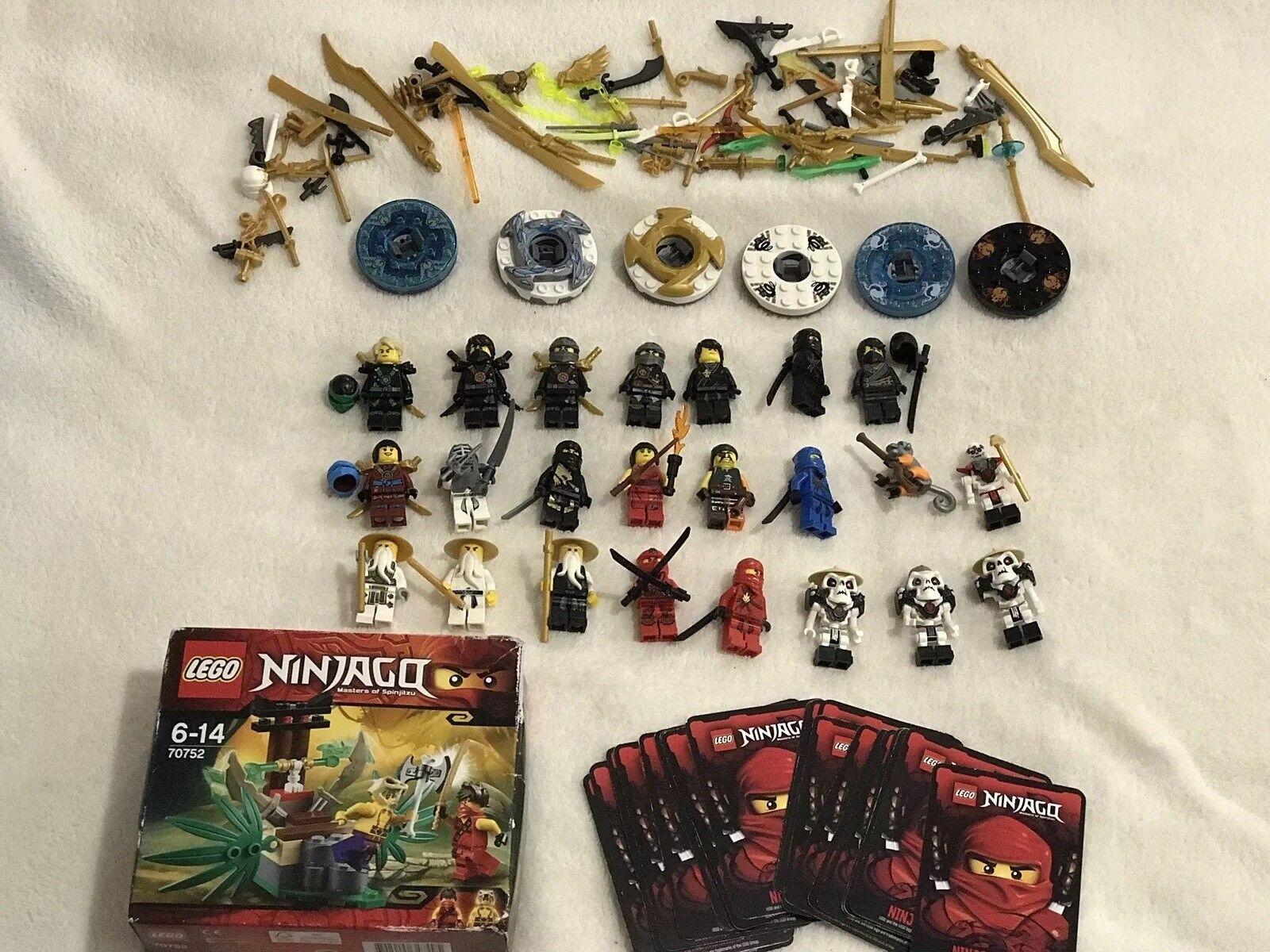 Genuine Lego Ninjago Minifigura Bundle Bundle Bundle X25 e47b28