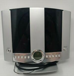Durabrand CD Player Alarm Clock & Radio Shelf System HM3817DT TESTED WORKS