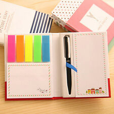 Sticker Post It Bookmark Notepad Marker Memo Flags Sticky Notes Book Utility
