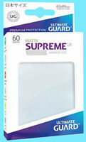 60 Ultimate Guard Supreme Ux Matte Frosted Japanese Card Sleeve Deck Protector