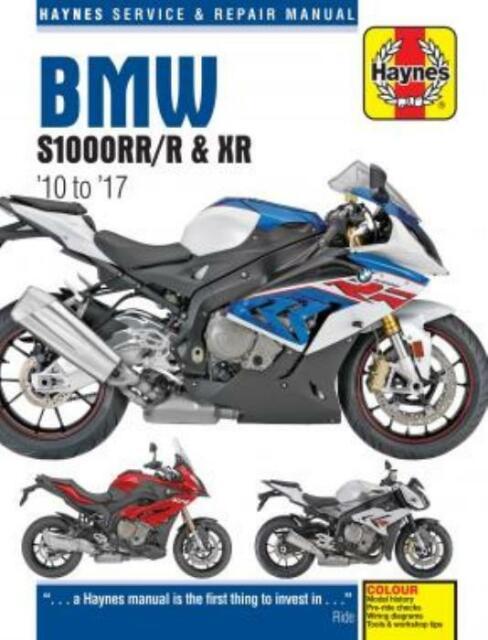 Haynes Workshop Manual Bmw S1000rr  R  U0026 Xr 2010