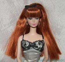 Rare BARBIE 2002 SILKSTONE LINGERIE FASHION MODEL #6 Redhead Robert Best w/Tag