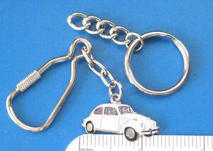 VW VOLKSWAGEN beetle - keychain , key chain (Enamel) GIFT BOXED