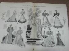 L' ART ET LA MODE - 1893 - No 4 - ILLUSTREE - GYMNASE TOUT POUR L HONNEUR