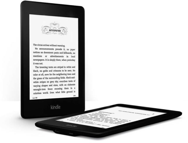 BRAND NEW Amazon Kindle Paperwhite High Resolution Wi-Fi 4 GB Latest 2014 Model