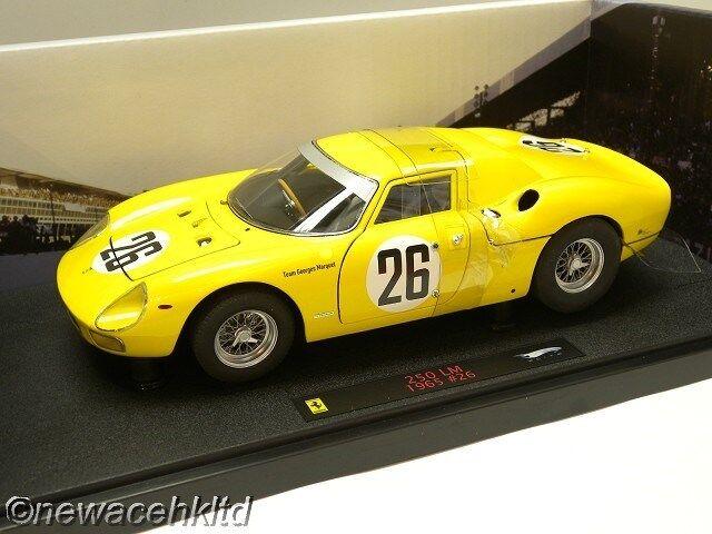 Ferrari 250 LM 1965 Elite Hotwheels Modelo 1 18  P9901