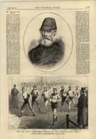 1878 Six Days Walking Match Agricultural Hall Albert Krupp