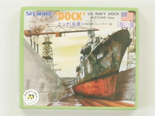 SkyWave Pit-Road US Navy Dock Fletcher 1//700 Kit MIB OVP ST 1609-30-47