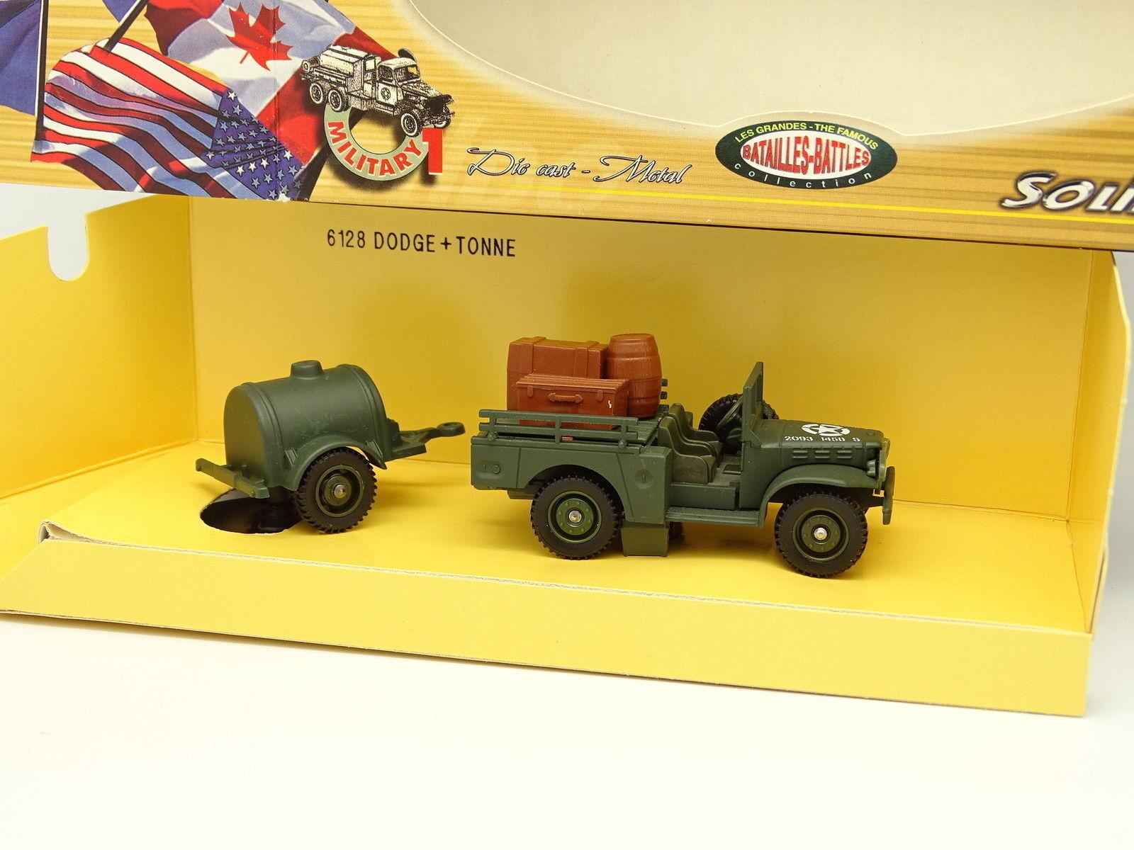Solido Militär Armee 1 50 - Dodge + Tonne