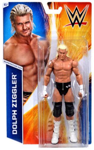 Officiel WWE MATTEL Série Basique 51 Dolph Ziggler # 37 wrestling action figure