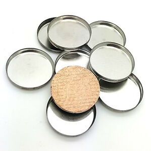 Magnetic Cosmetic Tin Pans 26mm for pressed makeup