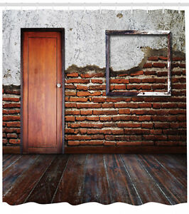 Image Is Loading Antique Frame Brick Wall Aged Old Room Rustic