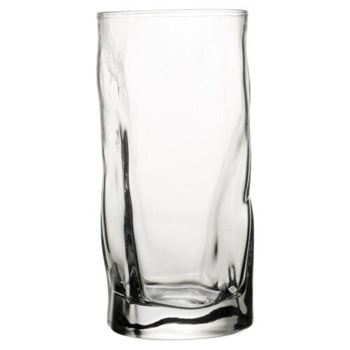6x Bormioli Rocco Dîner 46 cl grand verre transparent Hi-ball Tumbler Cup Party