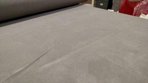 "5 Yards Med Graphite Automotive Carpet Upholstery Auto Pro Flexible 80/""W 18 Oz."