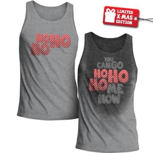 Vous pouvez aller HO HO Maison maintenantWorkout Sweat activé Men/'s TankOriginal Neuf