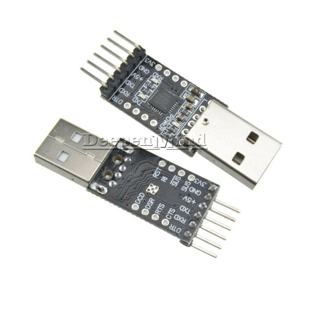 2PCS USB 2.0 to TTL UART Module Serial Converter 6Pin CP2102 STC Replace FT232