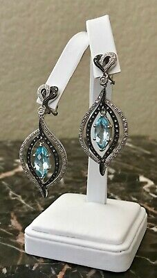 Solid 925 Sterling Silver Guitar Stud Earrings Electric Accoustic Music Singer