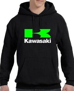 Kawasaki-Motor-Racing-Unisex-Hooded-Sweatshirt