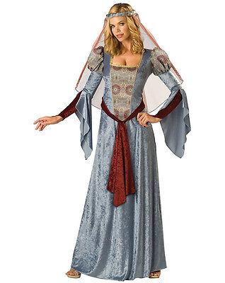 Women's Maid Marian Adult Costume RENAISSANCE Dress MEDIEVAL - S ,M ,L ,XL