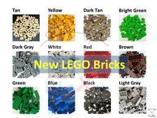 New 50100 Pcs Lego Bulk Lot Pack Sorted By Color Bricks Block Plate Bonus