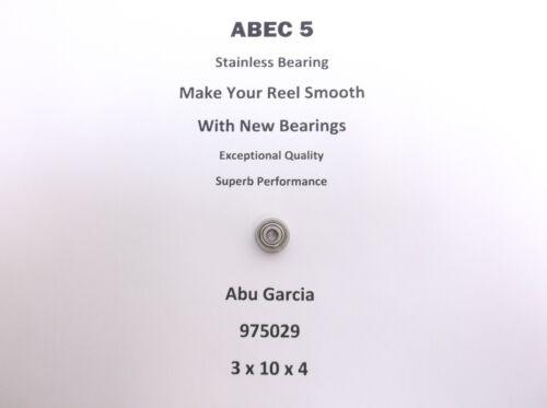 Abu Garcia Part 5000 AL Amb 975029 ABEC 5 Stainless Bearing 3 x 10 x 4 #01