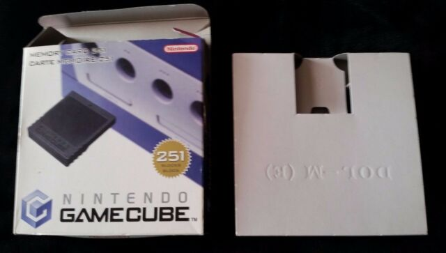 Memory Card 251 OVP (Gamecube, 2002)